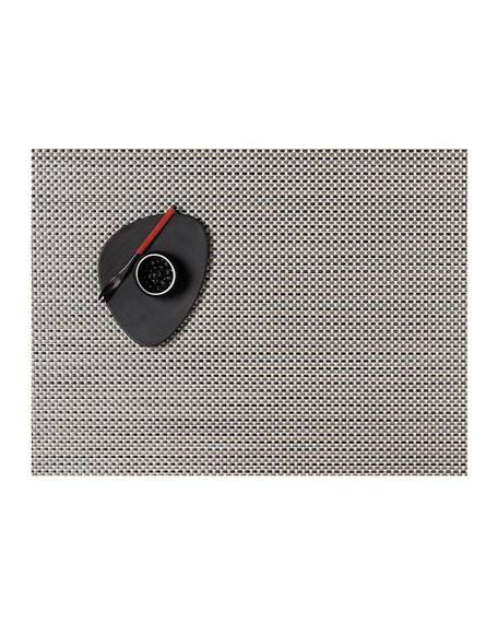 Basketweave Aluminum Placemat