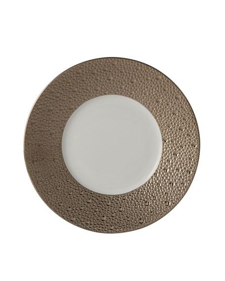 Ecume Platinum Salad Plate