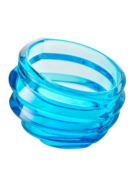 Orrefors Eko Bowl, Blue