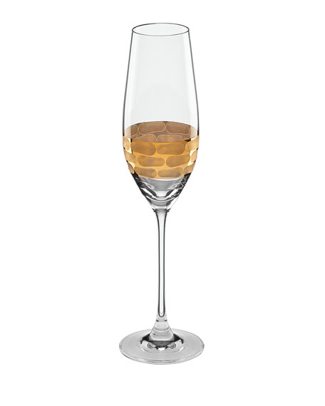 Michael Wainwright Truro Gold Champagne Flute