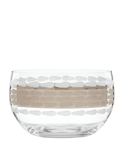 Truro Platinum Large Deep Bowl