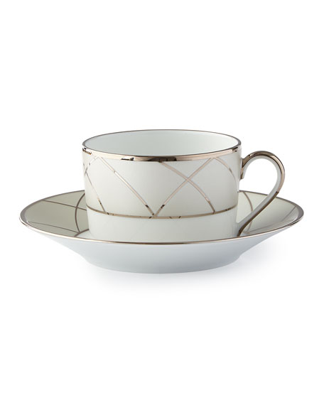 Haviland Clair de Lune Arches Saucer