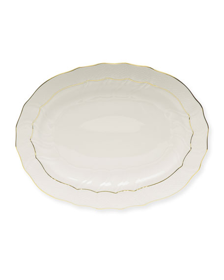 Golden Edge Platter, Medium