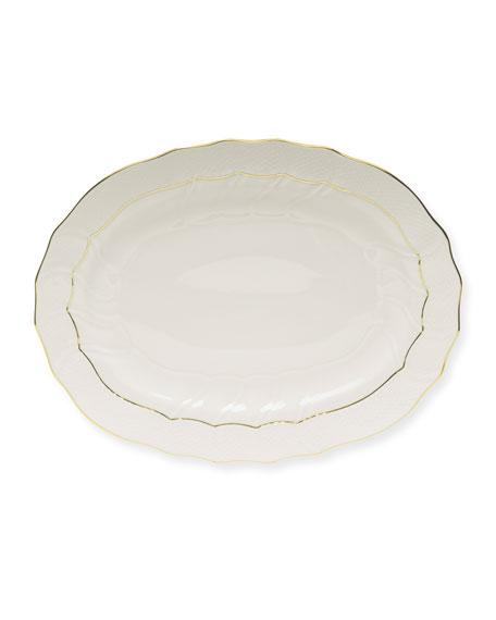 """Golden Edge Platter, 17"""""""