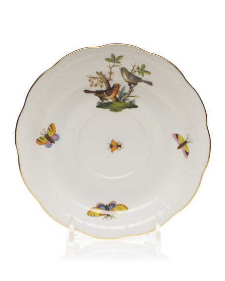 Herend Rothschild Bird Saucer #5