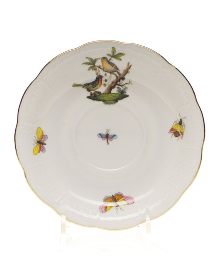 Herend Rothschild Bird Saucer #8