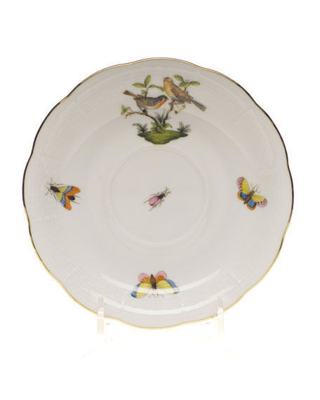 Herend Rothschild Bird Saucer #9