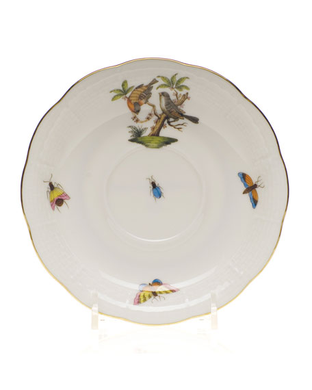 Herend Rothschild Bird Saucer #12