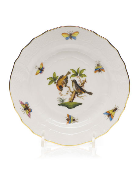 Herend Rothschild Bird Bread & Butter Plate #12