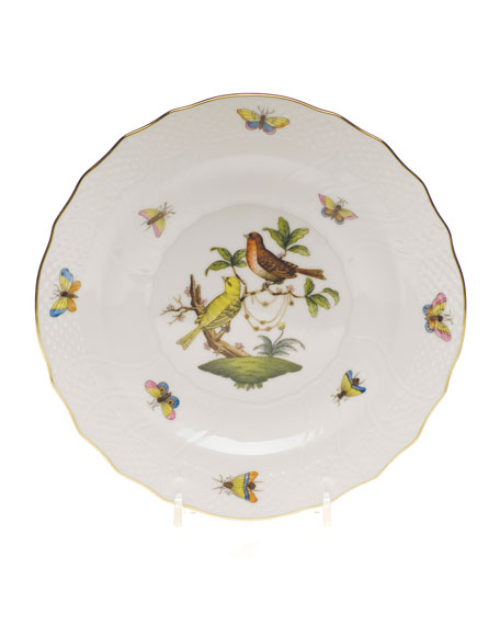 Herend Rothschild Bird Salad Plate #6