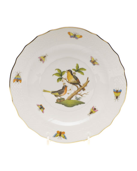 Herend Rothschild Bird Salad Plate #8