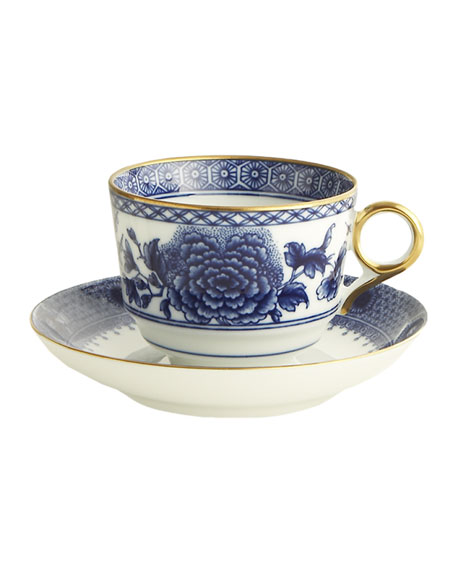 Imperial Blue Cup and Saucer