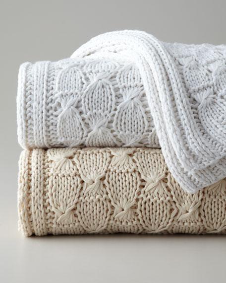 SFERRA Knit Throw