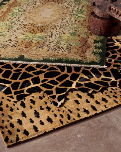 Jaguar Rug, 4'x 6'