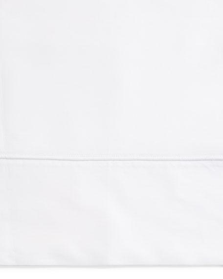 SFERRA King Italian 500 Thread Count Percale Flat Sheet