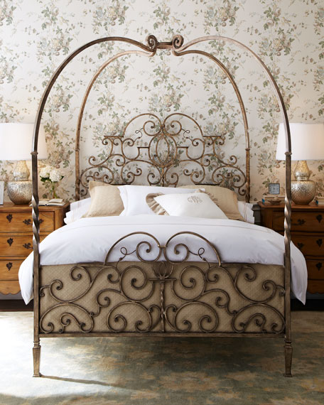 Tuscany Bedroom Furniture: Tuscany King Canopy Bed