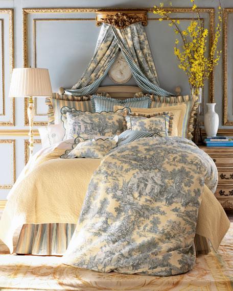 "Lutece Cypress Checked Fabric, 3 yards x 54""W"