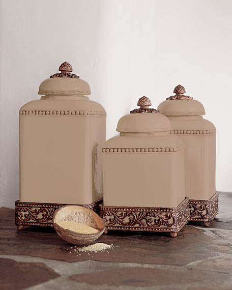 G G Collection Ceramic Canisters