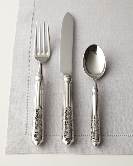 Ricci Silversmiths 20-Piece Amalfi Stainless Steel Flatware