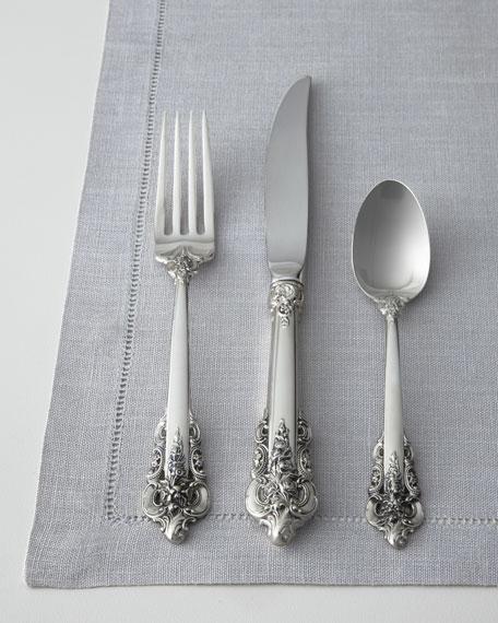 Wallace silversmiths piece grande baroque flatware service