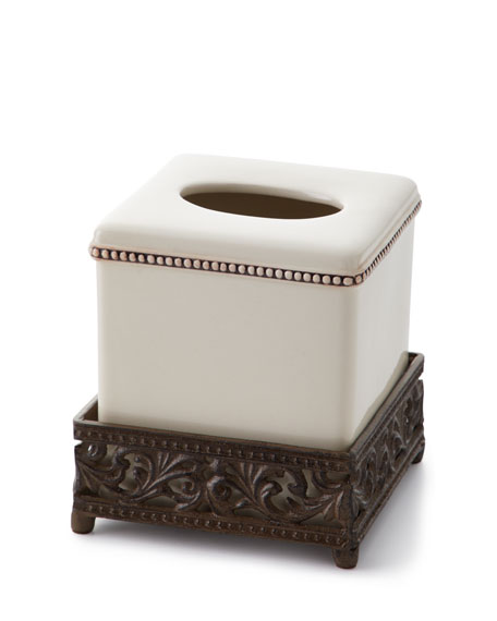 G G Collection Ceramic Tissue Box Cover