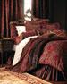 "Maria Christina Pieced Neck Roll Pillow, 7.5"" x 17"""