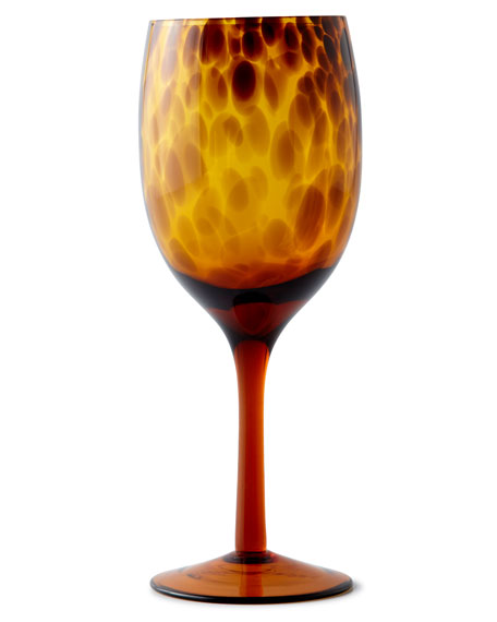 Tortoise Wine Goblets, Set of 4