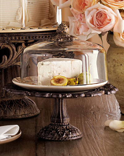 Small Cheese Dome & Pedestal