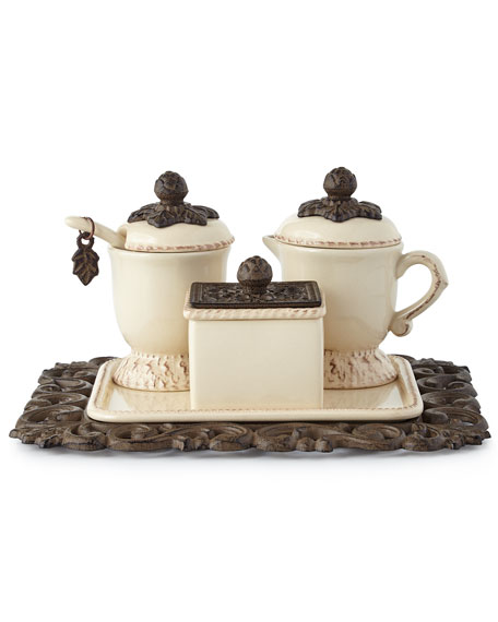 G G Collection Creamer & Sugar Set