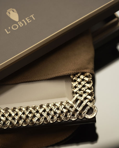 L'Objet Gold Braid 8