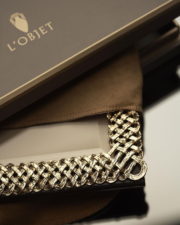 Lobjet Gold Braid 8 X 10 Picture Frame Neiman Marcus