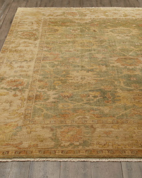 Vegetable Vine Rug, 8' x 10'