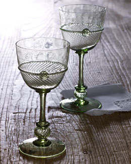 Juliska Four Small Graham Wine Glasses