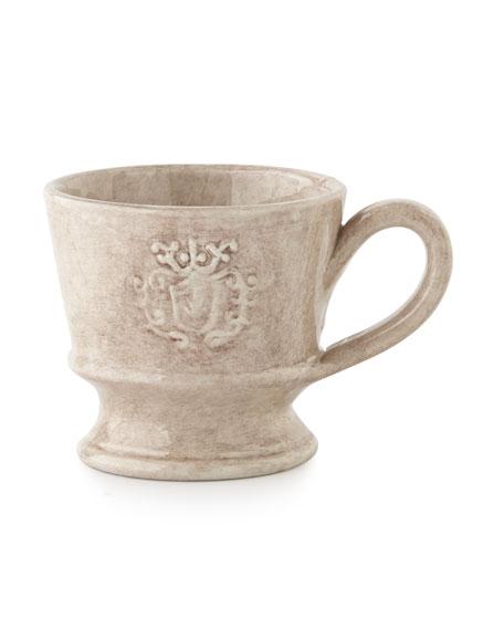 Caff Ceramiche Four Crest Mugs
