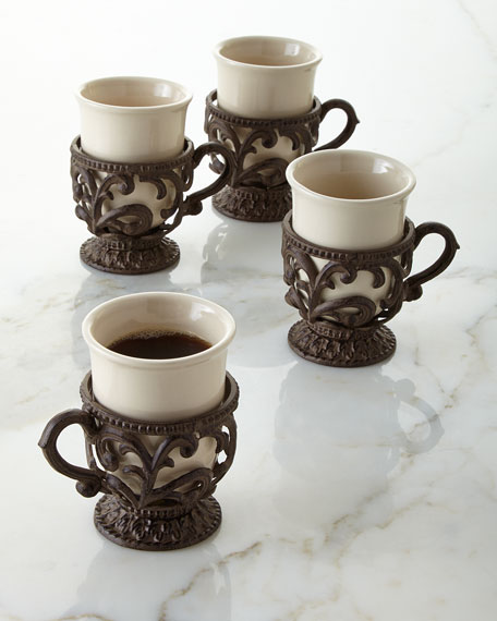 Four 8-oz. Mugs
