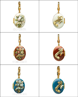 Jay Strongwater Birthstone Locket