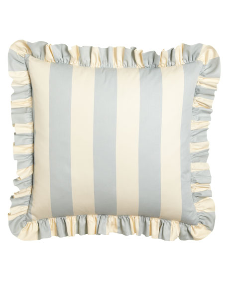 Madeline Striped European Sham