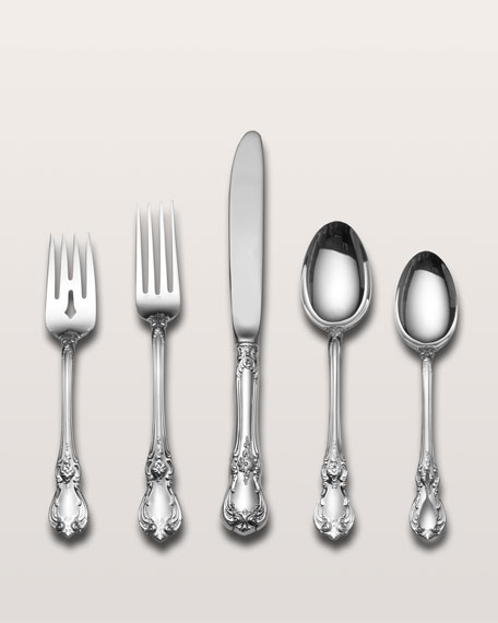 Towle Silversmiths 46-Piece Old Master Sterling Silver Flatware