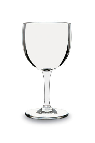 Baccarat Montaigne Optic Red Wine Glass
