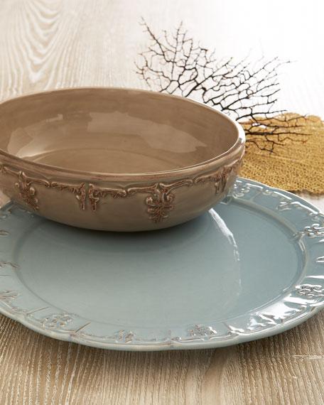 Fleur-De-Lis Serving Bowl