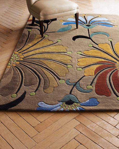 Eastern Colors Rug, 6' Square