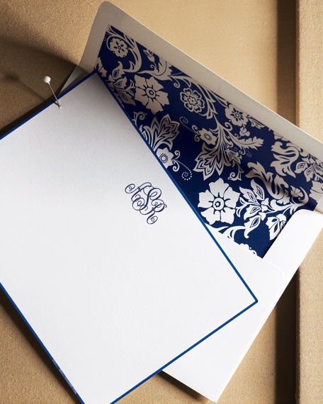 Boatman Geller 25 Cards with Initial/Pers. Envelopes