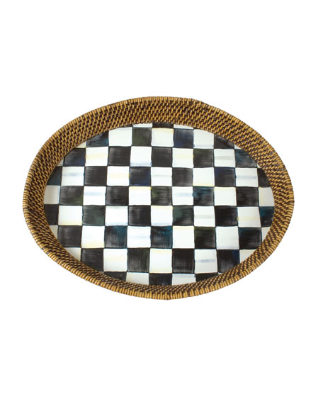 MacKenzie-Childs Courtly Check Tray