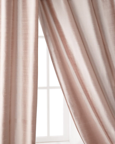 "Radiance Silk Curtain, 108""L"