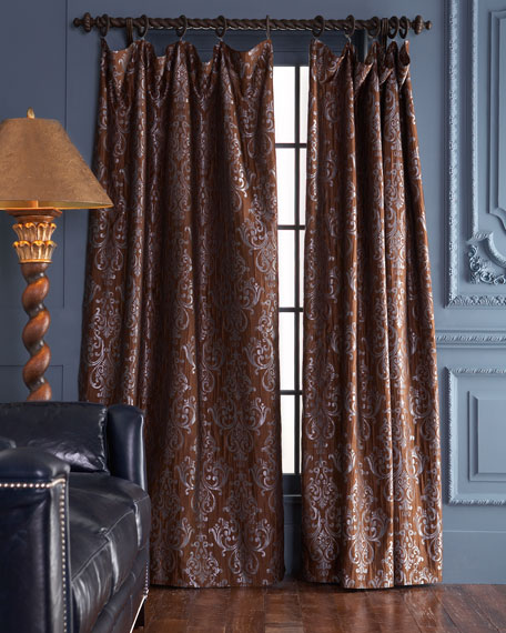 "Each Castella Curtain, 120""L"