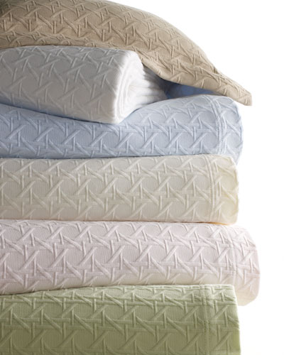 King Cane Matelasse Coverlet