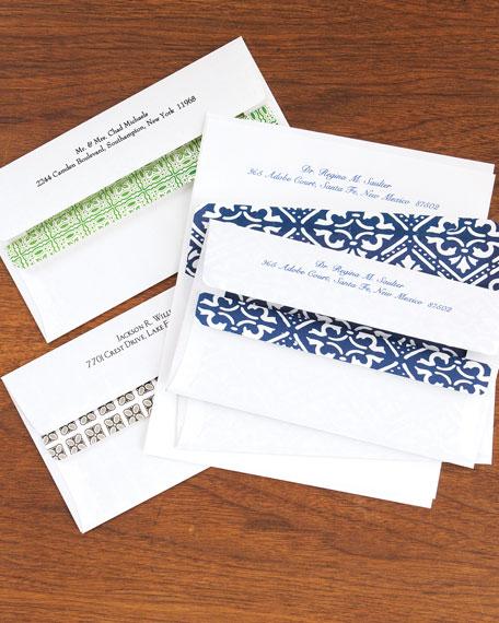 Boatman Geller 100 Personalized Self-Seal Envelopes