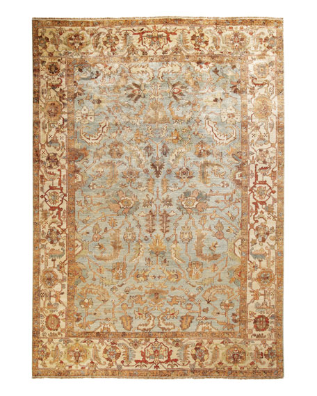 Seaside Oushak Rug, 6' x 9'