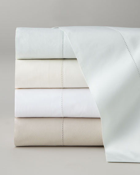Two Standard Classic Hemstitch 400TC Pillowcases
