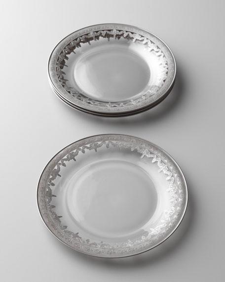 Vetro Silver Salad Plate